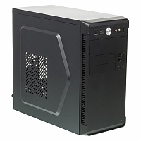 Корпус mATX Accord ACC-B022 Midi-Tower без БП черный