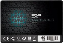 "SSD накопитель Silicon Power Slim S55 SP060GBSS3S55S25 60Gb 2.5"" SATA III"