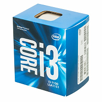 Процессор Intel Core i3 7100 LGA 1151 BOX (bx80677i37100 s r35c)