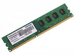 Модуль памяти Patriot PSD34G16002 DDR3 4Gb 1600MHz DIMM