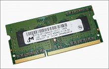 Micron DDR3 1Gb PC3-8500S 1066MHz (MT8JSF12864HZ-1G1F1)