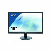 "Монитор ЖК AOC Value Line e970Swn (01) 18.5"" черный"