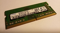Модуль памяти SO-DIMM Samsung DDR4 4Gb PC4-2400T CL11 (M471A5143SB1)