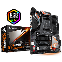 Материнская плата Gigabyte X470 Aorus Ultra Gaming SocketAM4 AMD X470 ATX