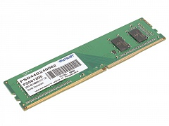 Модуль памяти Patriot PSD44G240082 DDR4 4Gb 2400MHz DIMM