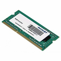 Память DDR4 4Gb 2400MHz Patriot PSD44G240041S RTL PC4-17000 CL17 SO-DIMM 288-pin 1.2В