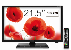 "LED телевизор Telefunken TF-LED22S48T2 21.5"" Full HD (1080p) черный"