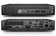 Компьютер Y5P96EA HP Bundle 400 G2 DM Core i3-6100T,4GB DDR3 DIMM (1x4GB),500GB,DVDRW,USB slim kbd/m